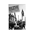 May 2000 'Reclaim the Streets' Mayday protest in Parliament Square