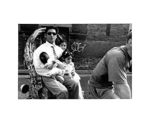 May 2000 proud father, Bengali festival,  Bethnal Green